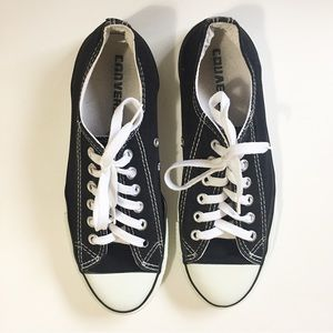 Converse Chuck Taylor Black and White Sneakers